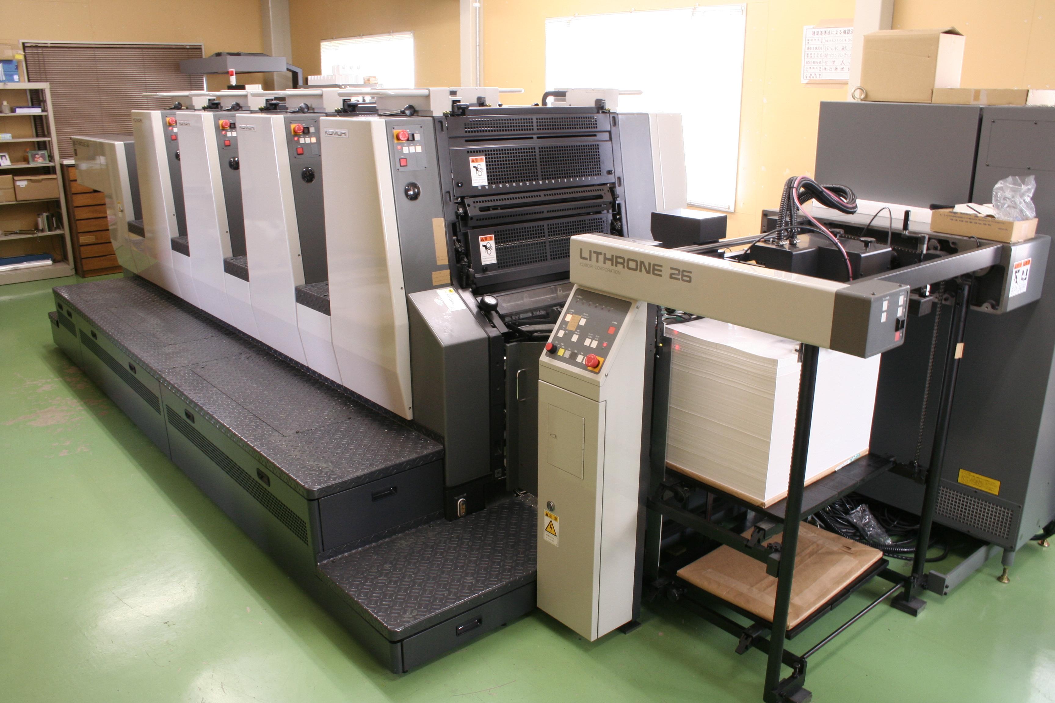 カラー印刷機3019